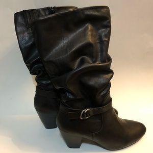 Croft & Barrow - Gladys Black Boot